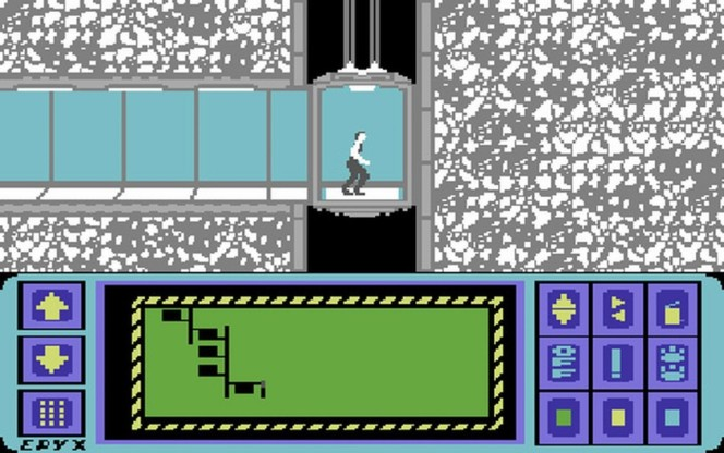 Impossible Mission Commodore 64 videogame