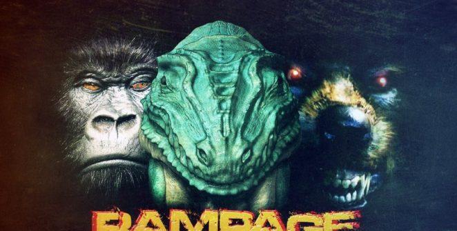 Rampage il videogame anni '80 diventa un film