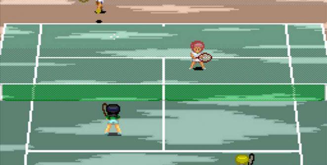 Smash Tennis - Namco (1993) videogame