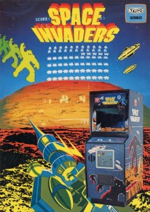 Taito space invaders