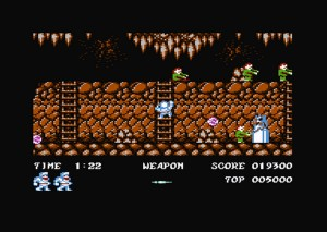 Ghosts'n Goblins Arcade by Nostalgia per Commodore 64