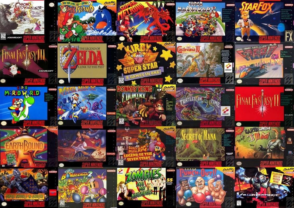 Super Nintendo I 10 Giochi Pi 249 Venduti Di Sempre Per Snes