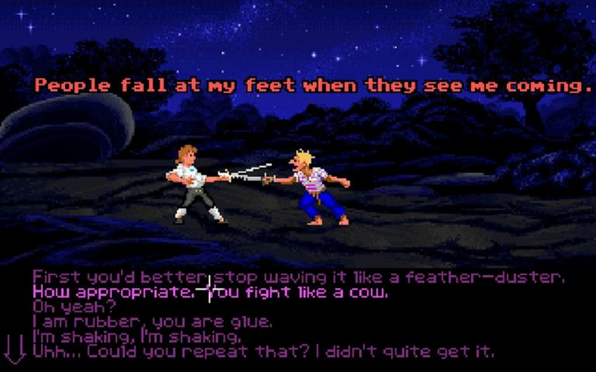 The Secret of Monkey Island videogame