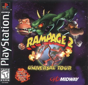 Rampage 2 Universal Tour - PS1 cheats