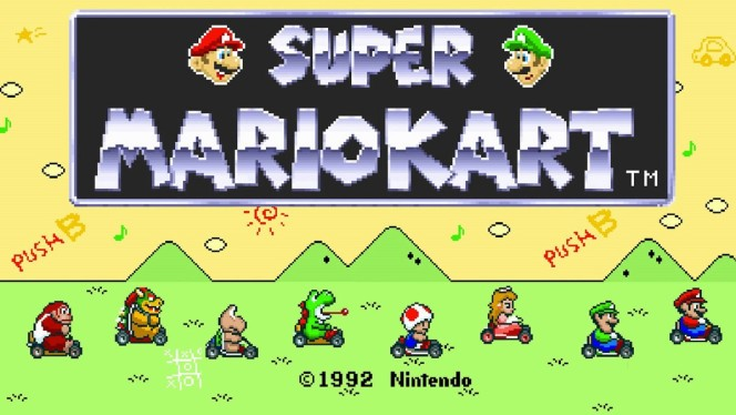 Super Mario Kart - Super Nintendo cheats