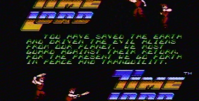 Time Lord - NES trucchi e codici videogame