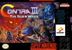 Contra III The Alien Wars - SNES cheats