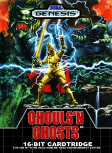 Ghouls'n Ghosts - Sega Mega Drive cheats