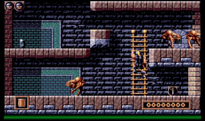 Gods Amiga videogame