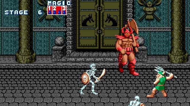 Golden Axe - Sega Mega Drive videogame
