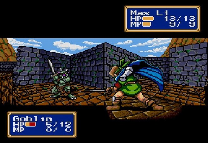 Shining in the Darkness Sega Mega Drive videogame