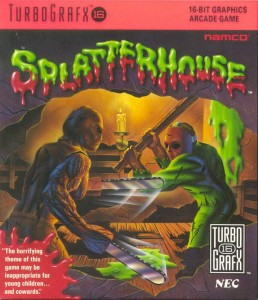 Splatterhouse - TurboGrafx-16 cheats