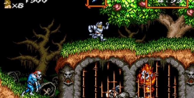 Super Ghouls'n Ghosts - SNES trucchi e codici videogame