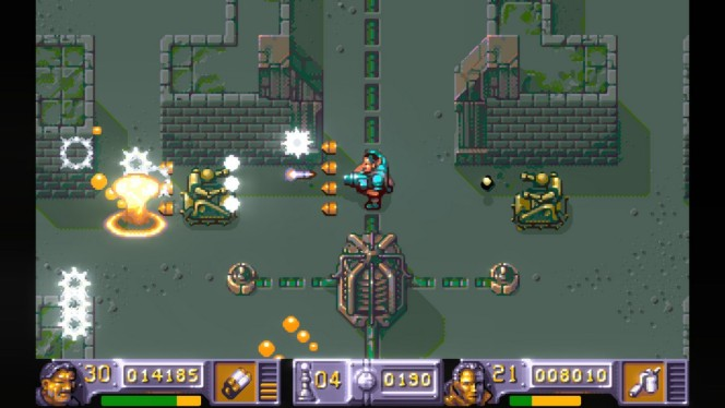 The Chaos Engine - Amiga password e codici videogame