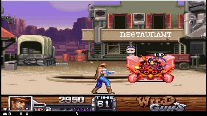 Wild Guns SNES videogame