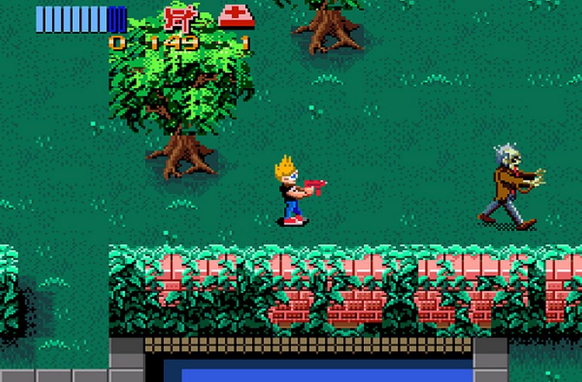 Zombies Ate My Neighbors - Konami (1993) videogame