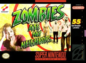 Zombies Ate My Neighbors - Konami (1993)