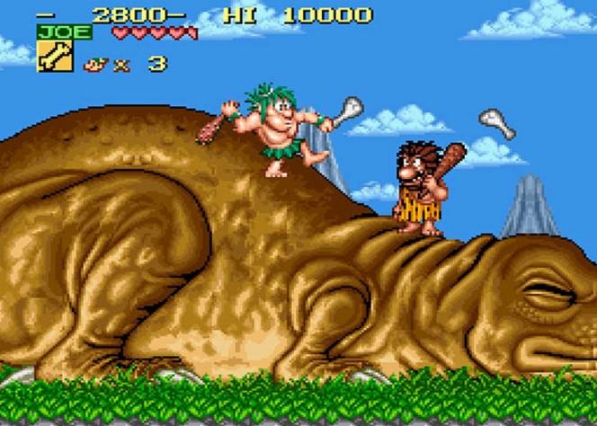 Joe & Mac - SNES trucchi e codici videogame