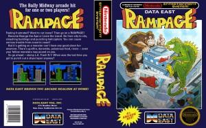 Rampage - NES trucchi e codici