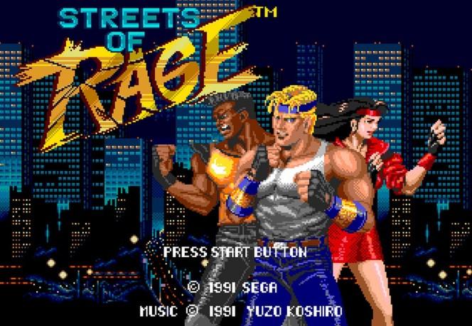 Streets of Rage - Sega Mega Drive trucchi e codici videogame