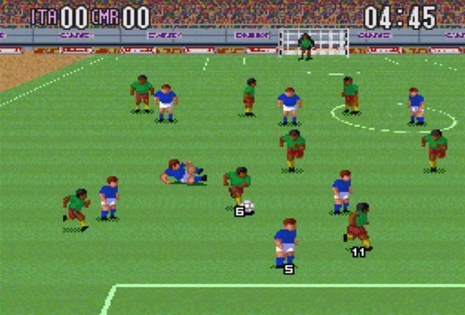 Super Soccer - SNES videogame
