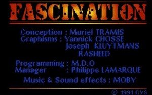 Fascination - MobyGames (1991) Cocktail Vision