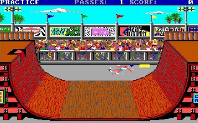 Skate or Die! NES videogame