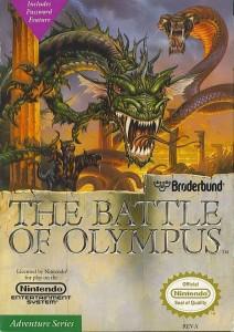The Battle of Olympus - NES trucchi e password