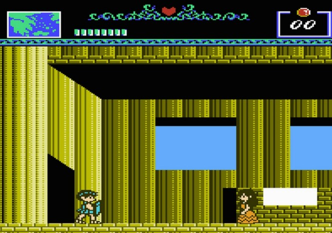 The Battle of Olympus NES videogame