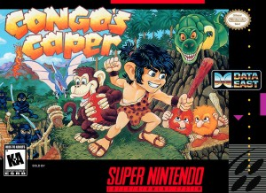 Congo's Caper - SNES codici e password cover