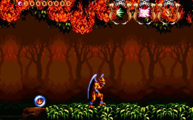 Demon's Crest - SNES codici e password videogame