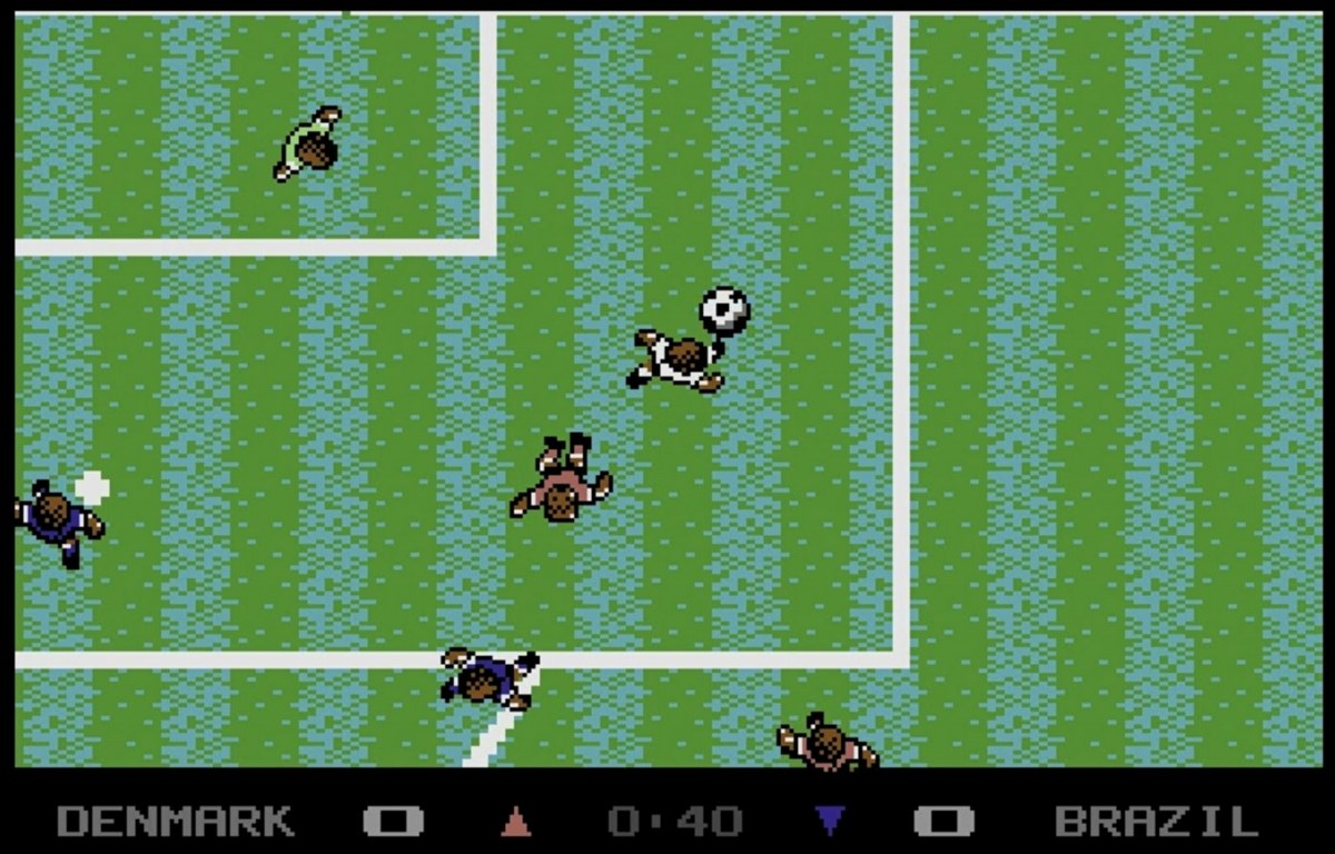 Microprose Soccer - Sensible Software (1988) videogame