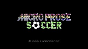 Microprose Soccer - Sensible Software (1988) schermata