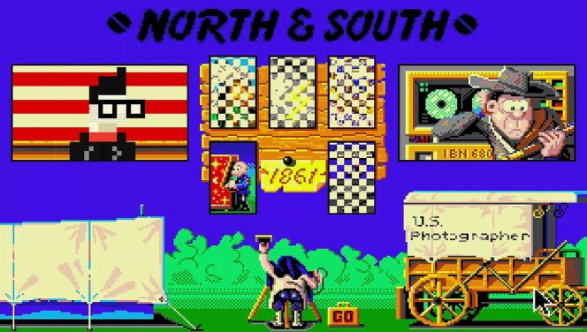 North & South NES videogame
