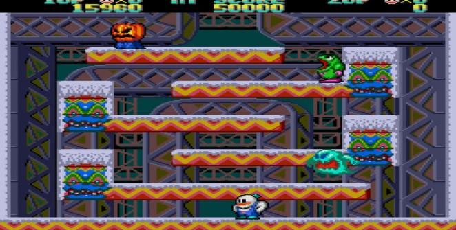 Snow Bros. - NES trucchi e codici videogame