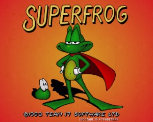 Superfrog - Amiga trucchi e password