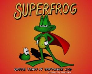 Superfrog - Amiga trucchi e password