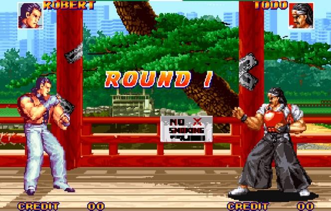 Art of Fighting Neo Geo videogame