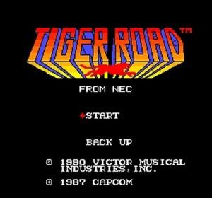 Tiger Road - PC Engine trucchi e codici