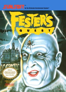 Fester's Quest - NES trucchi e codici