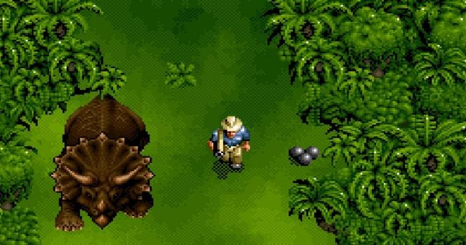 Jurassic Park - SNES trucchi e codici videogame