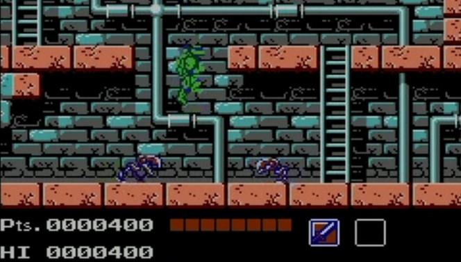 NES Teenage Mutant Ninja Turtles
