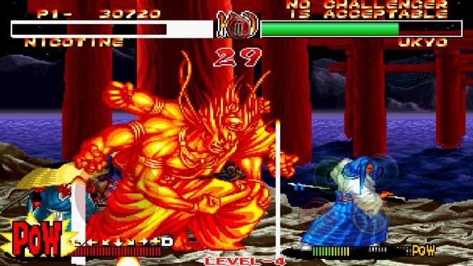 Samurai Shodown 2 Neo Geo videogame