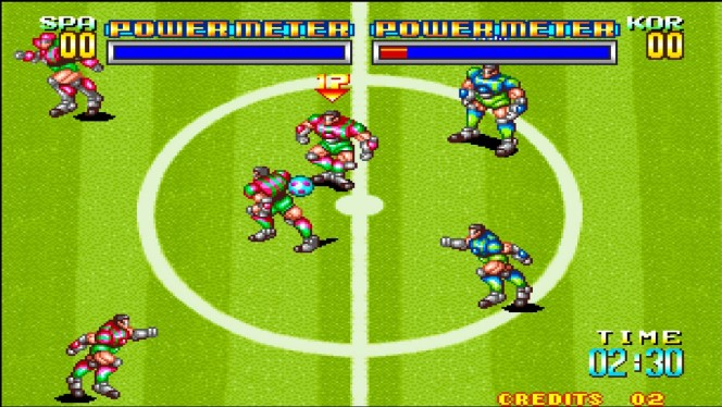 Soccer Brawl Neo Geo videogame