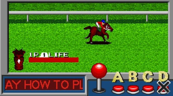 Stakes Winner Neo Geo videogame