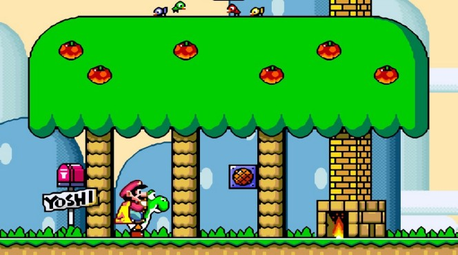 Super Mario World - SNES videogame