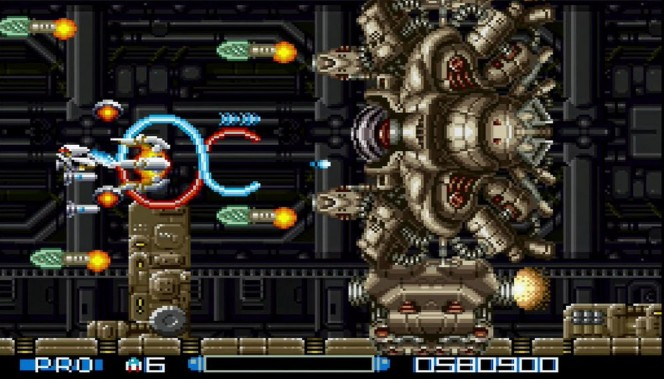 Super R-Type SNES videogame