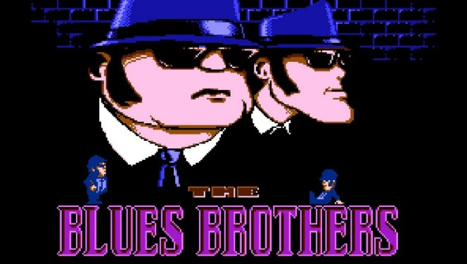 The Blues Brothers NES videogame