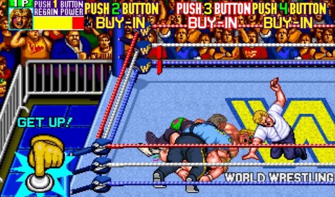 WWF WrestleFest Arcade videogame