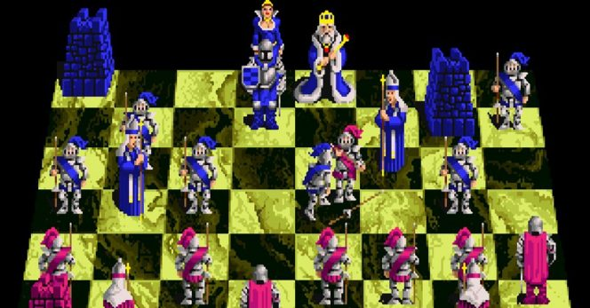 Battle Chess Amiga videogame